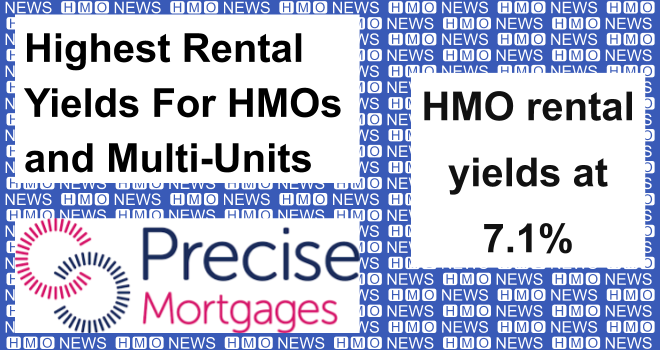 Highest Rental Yields For HMOs and Multi-Units